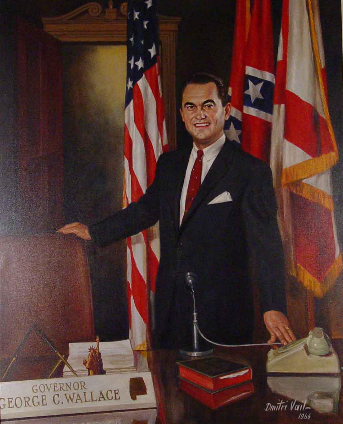 photo of portrait of Ala. Governor George C. Wallace