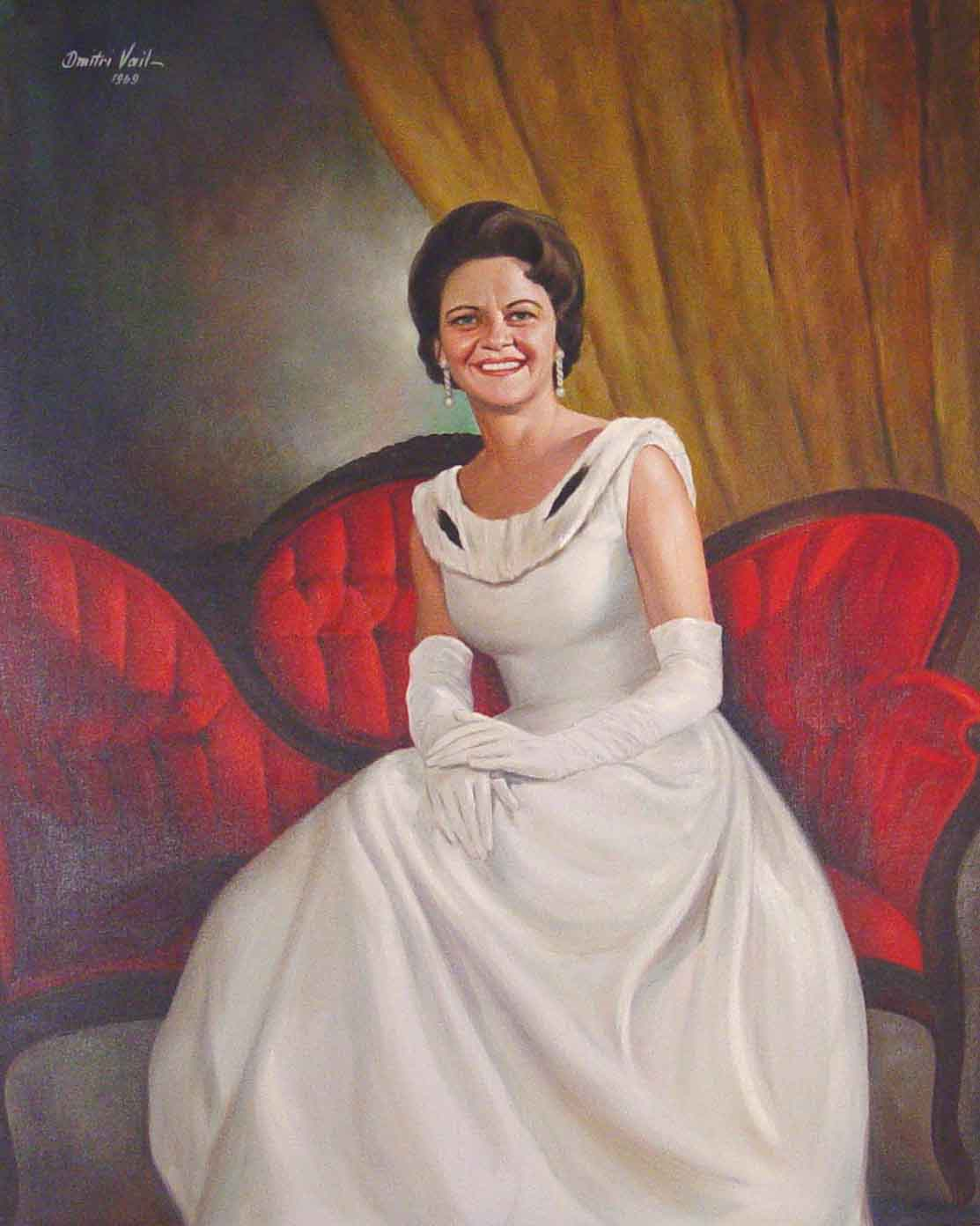 offical portrait of Governor Lurleen B. Wallace